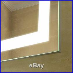 24 x 36LED Makup Mirror Defogger On/Off Touch Switch Vanity