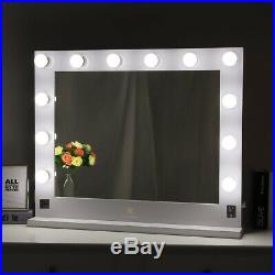 Brand Hollywood Makeup Vanity Mirror with Light Stage Large Beauty Mirror Dimmer