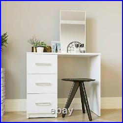 Dressing Table for Makeup, Vanity Mirror 3 Drawer