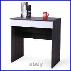 Dressing Table withFlip-Up Mirror & Jewelry Storage Space Chic Makeup Vanity Table