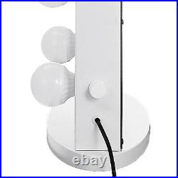 Hollywood Makeup Lighted Vanity Mirror with Lights Bulb Dimmer Tabletop or Wall