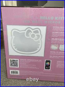 Impressions For Hello Kitty Wall Mirror with WiFi, Smart Makeup Vanity Mirror NW