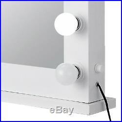 Large Hollywood Makeup Vanity Mirror with 14 Bulbs Dimmer Stage Beauty Mirror