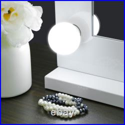 Vanity Mirror With Lights Hollywood Style Makeup Mirror 14 Dimmable LEDs Bulbs