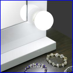 Vanity Mirror With Lights Hollywood Style Makeup Mirror with 14 Dimmable LEDs