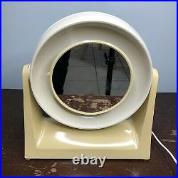 Vintage Atomic Space Age Two Way Make Up Mirror Vanity 1970s By Oster