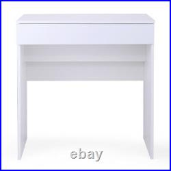 WithFlip-Up Mirror Dressing table and Storage Chic Dresser Makeup Vanity Table